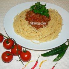 Спагети Болонезе - рецепта