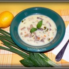 Супа от агнешки дреболии