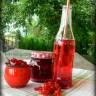 Конфитюр и сироп от червен касис