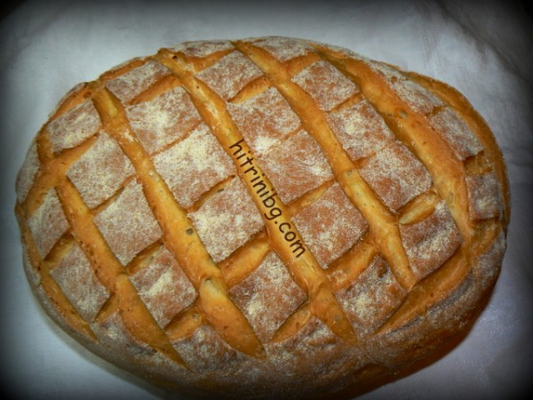 хляб на плоча