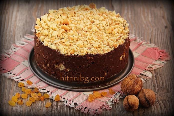 презентация на шоколадова бисквитена торта