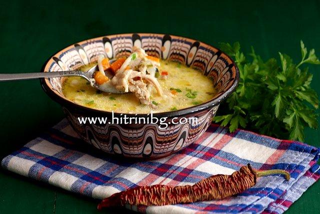 супа от заешко месо