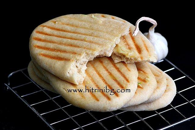 Разчупени пърленки на сандвич тостер