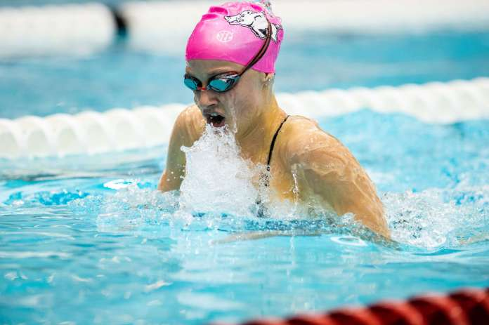 Razorbacks ranked in first swimming-diving poll after Mizzou Invitational