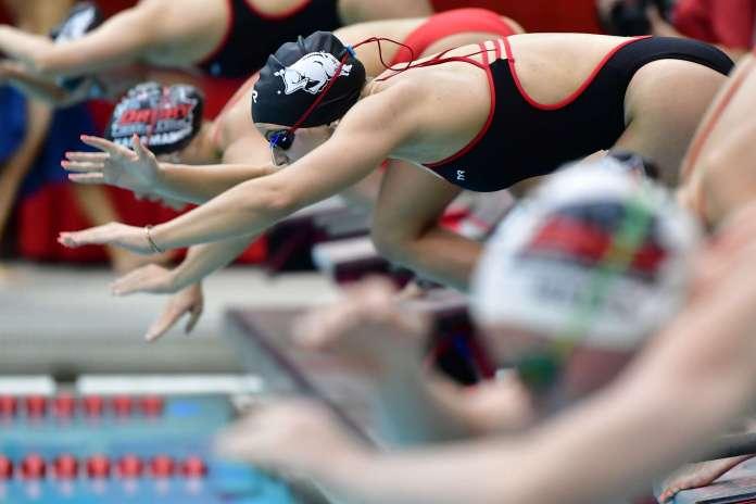 'Tired' Razorbacks drop dual meet to Kansas ahead of SEC