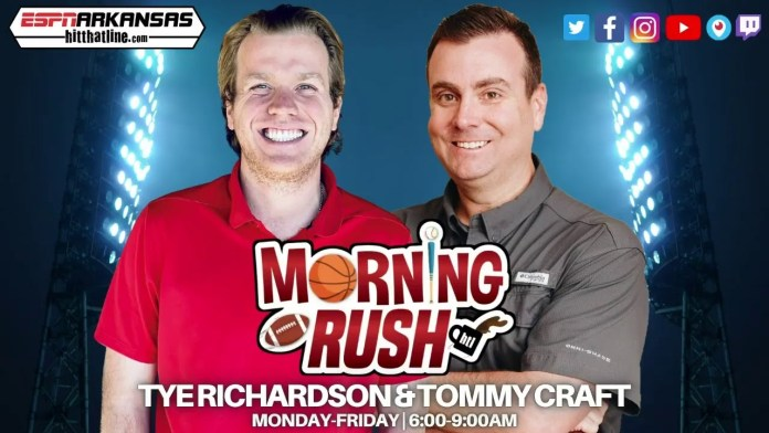 Bud Light Seltzer Morning Rush Podcast – Hogs/Vols this weekend and National Buttermilk Biscuit Day