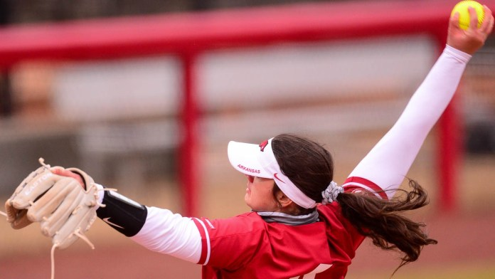 Haff throws no-hitter in Razorbacks' sweep of Tech, SEMO