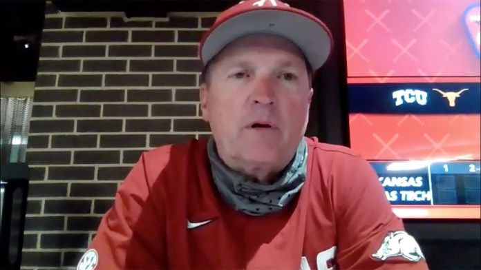 Van Horn on Hogs' 'crazy' 13-9 win over Texas Tech in State Farm Showdown