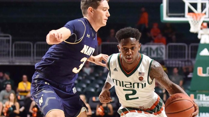 Musselman adds grad transfer from Miami with Chris Lykes