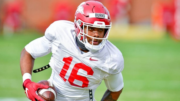 Burks has best opportunity for NFL success of any Hogs' wide receiver