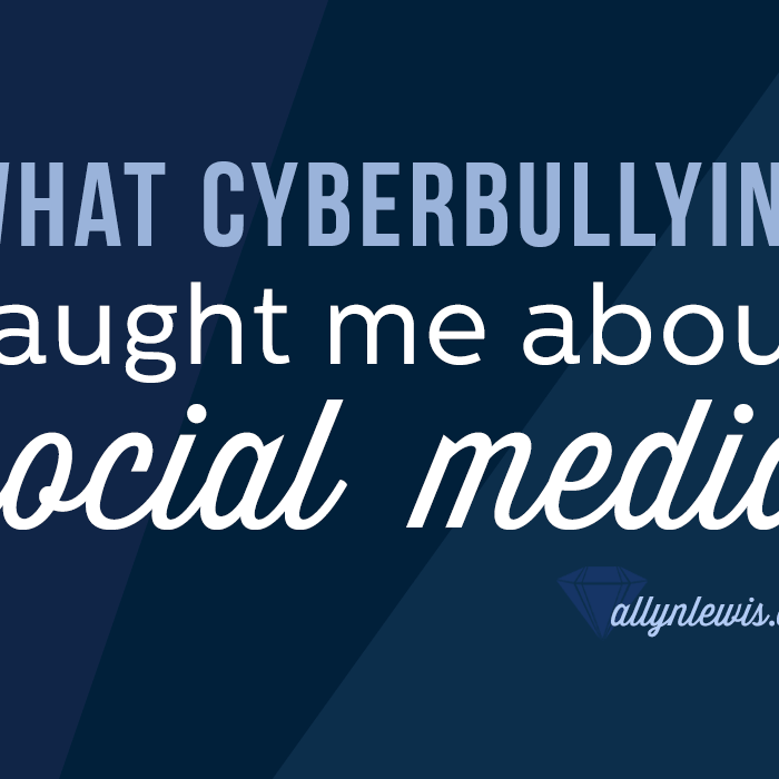 What Cyberbullying Taught Me about Social Media