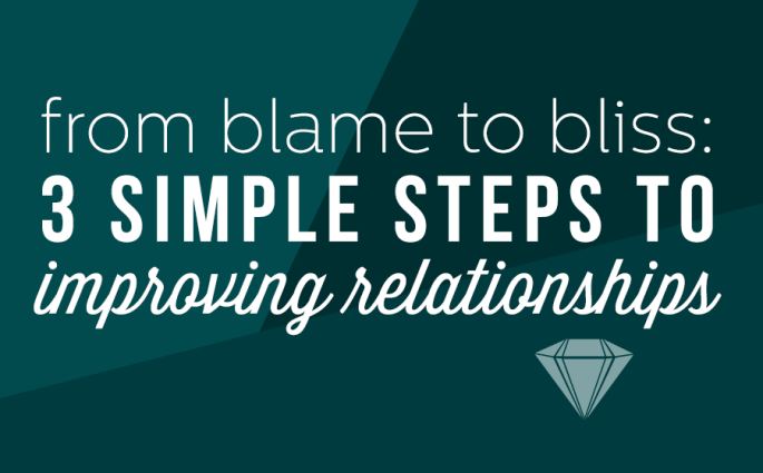 At the core of our relationships with others is our relationship with ourselves.