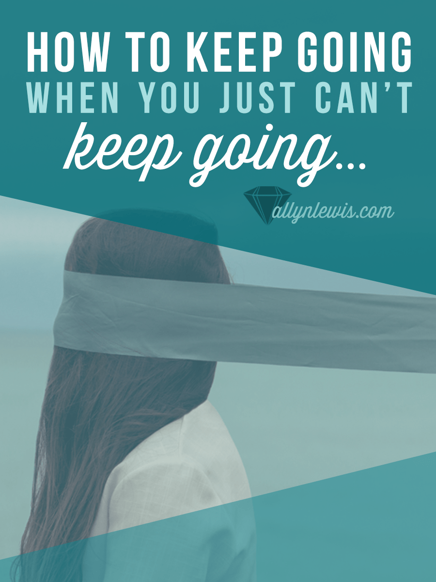 You're overworked, overwhelmed, and over everything. Here are 5 things you can do to keep your life together when you've got nothing left to give.