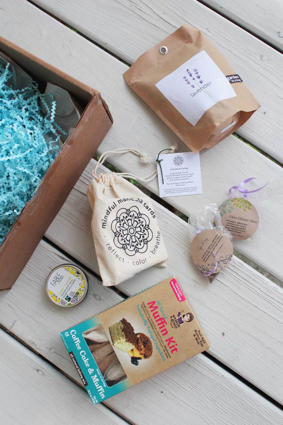 Channeling her love of psychology and passion for helping others, Janelle Martel created a subscription box for those who are suffering from chronic illness, experiencing mental health issues, or just need a little extra TLC.