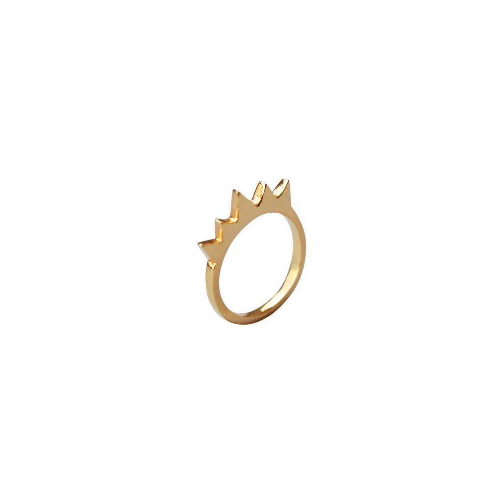 Steffi Keung Gold ring