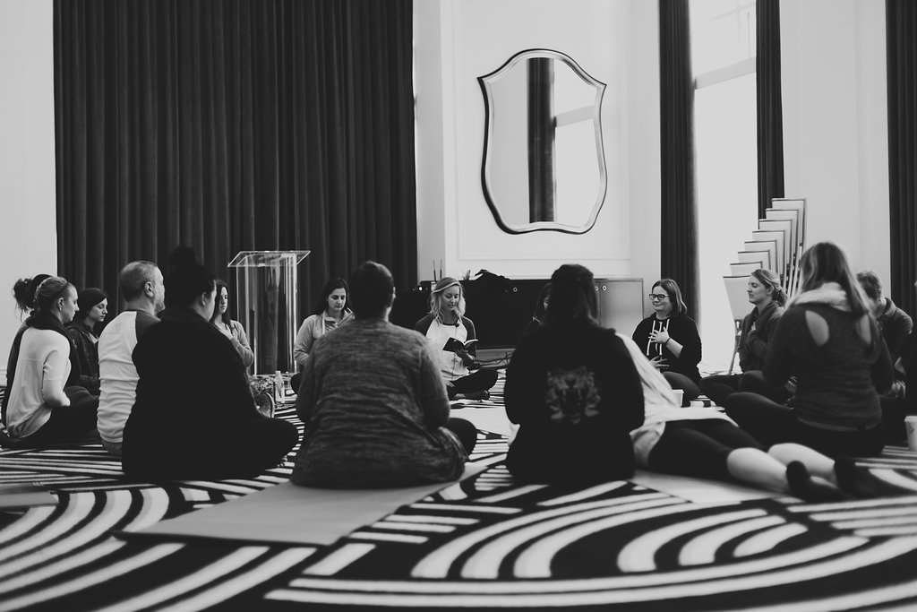Spending a Day with Fear (And Why We're Now Friends) - The Fearless Warrior Conference // Photo: Kelley Bedoloto Photography
