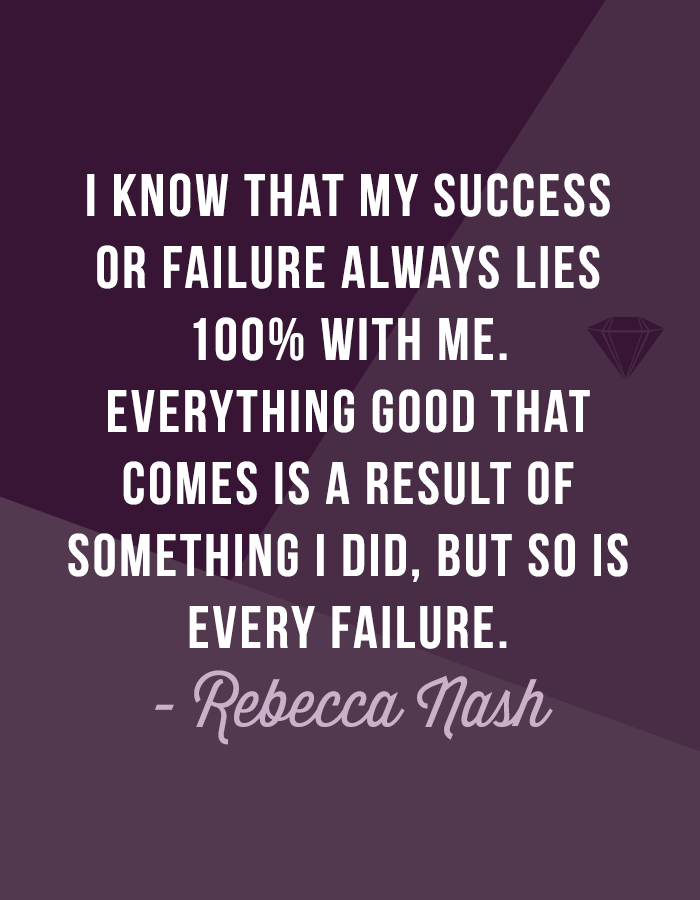 Our interview with photographer Rebecca Nash will leave you inspired to conquer any struggles you're facing and proves that you can still show up for others no matter what you're going through.
