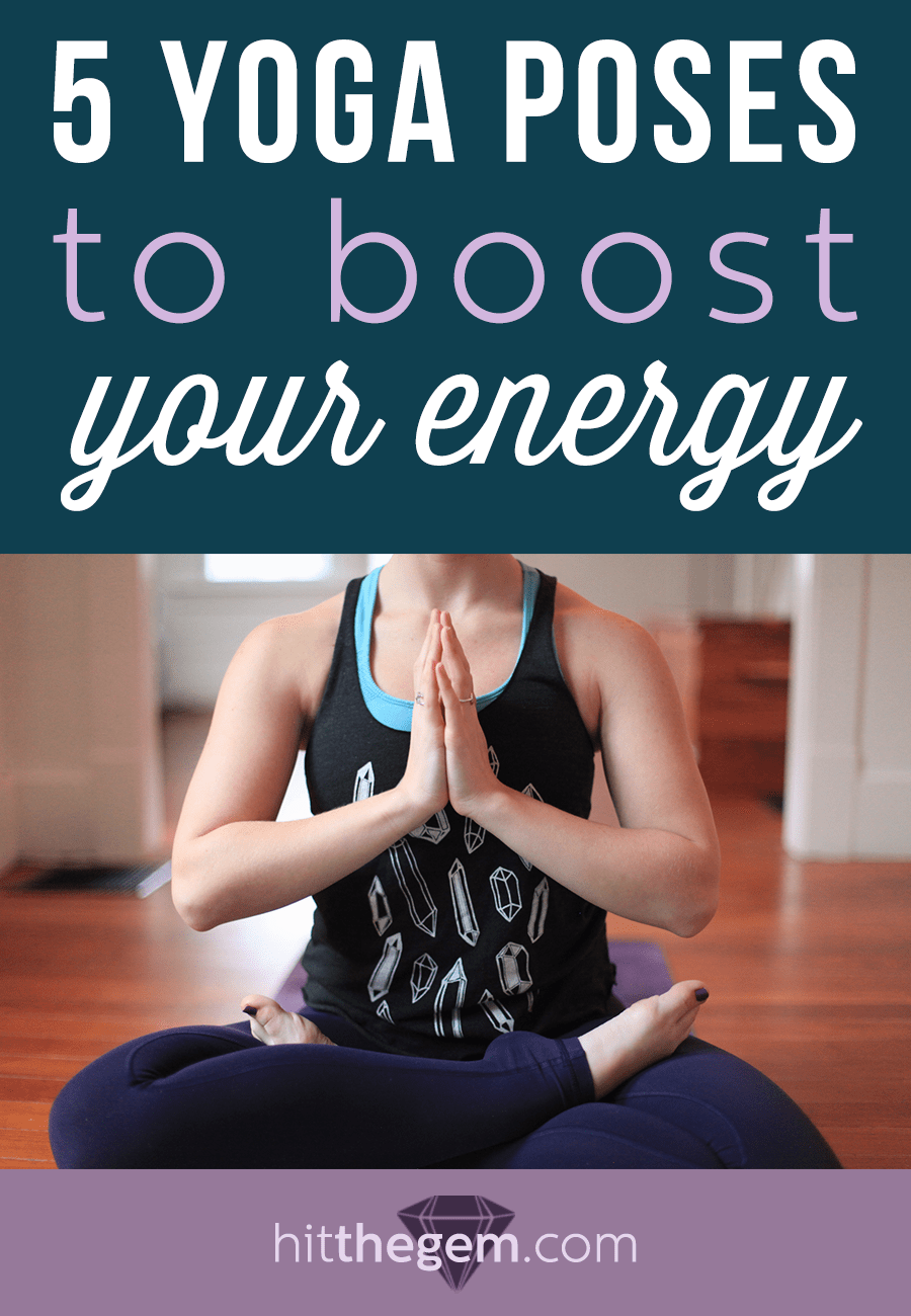If you've been overworking your Keurig, these simple yoga poses will help to boost your energy!