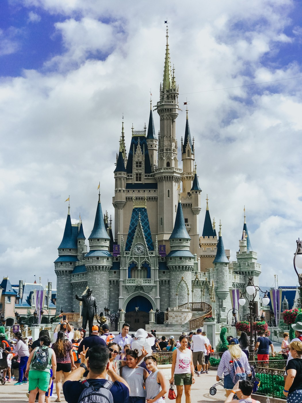 Cinderella's Castle at Walt Disney World // Disney Photography // Disney Princess