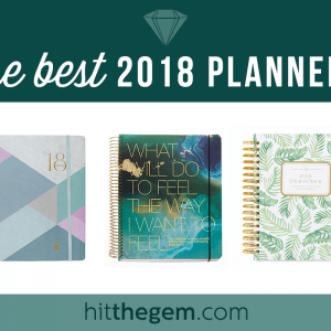 Trying to decide on which 2018 planner is for you? Look no further! Here are the top 10 planners reviewed and recommended for organization, productivity, and focus.
