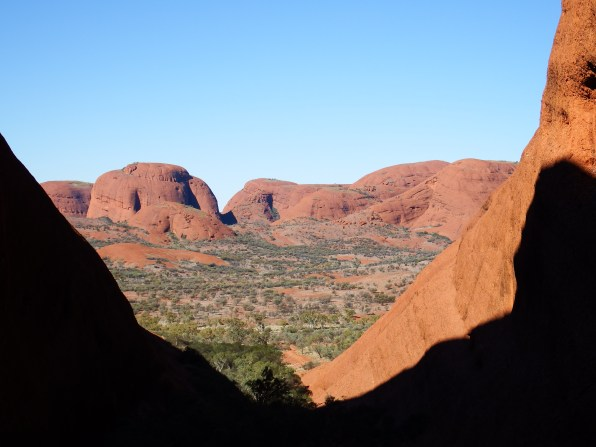 From the Karingana lookout on the Valley of the Winds Walk, Kata-Tjuta