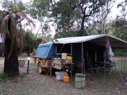 Camp at Takaraka