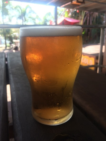 Beer at the top pub, Cooktown
