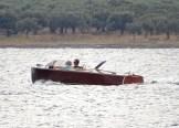 vintage ski speed boat - Poros GR- 2014