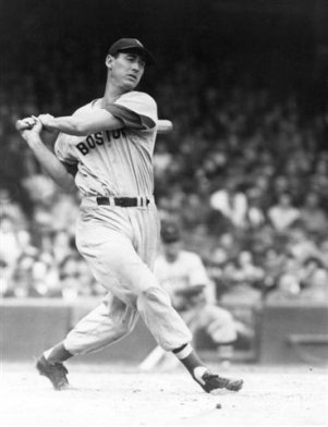 Ted Williams Seeing Ball Hit Bat.