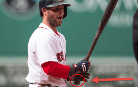 Baseball Hitting Drills For Contact: Dustin Pedroia Victus Ax Handle Bat