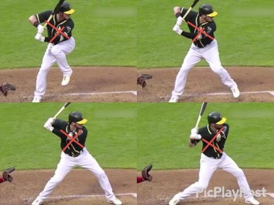 Baseball Hitting Drills For Power: Josh Donaldson Springy 'X' Pattern