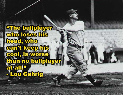 Lou Gehrig quote