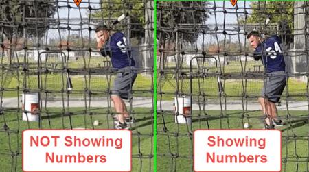 Preston Scott: Showing versus NOT Showing Numbers