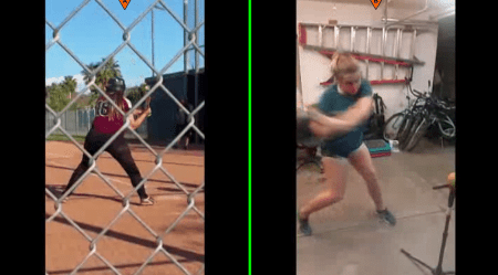 Kelli M BEFORE & AFTER Swings