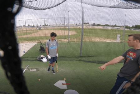 Over Shoulder Look: Hank Aaron Wrist Snap