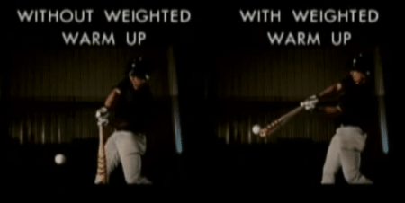 Weighted Bat Swing Comparison