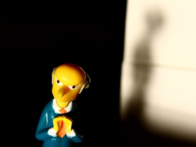 monty burns does not have an opinion on abortion