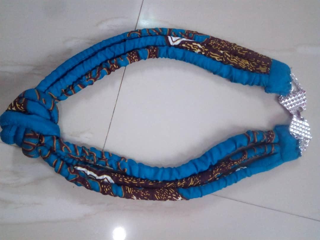 Ankara neckline