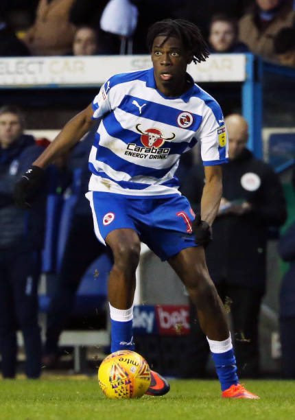 Reading FC player Ovie Ejaria