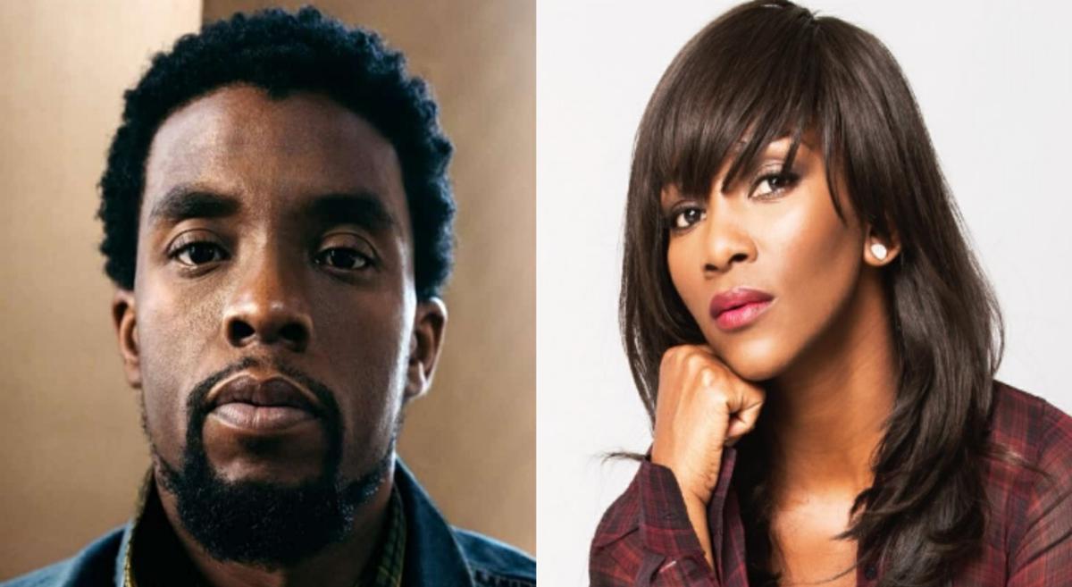 Chadwick Boseman of Black Panther and Genevieve