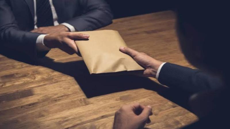 Paying Bribe