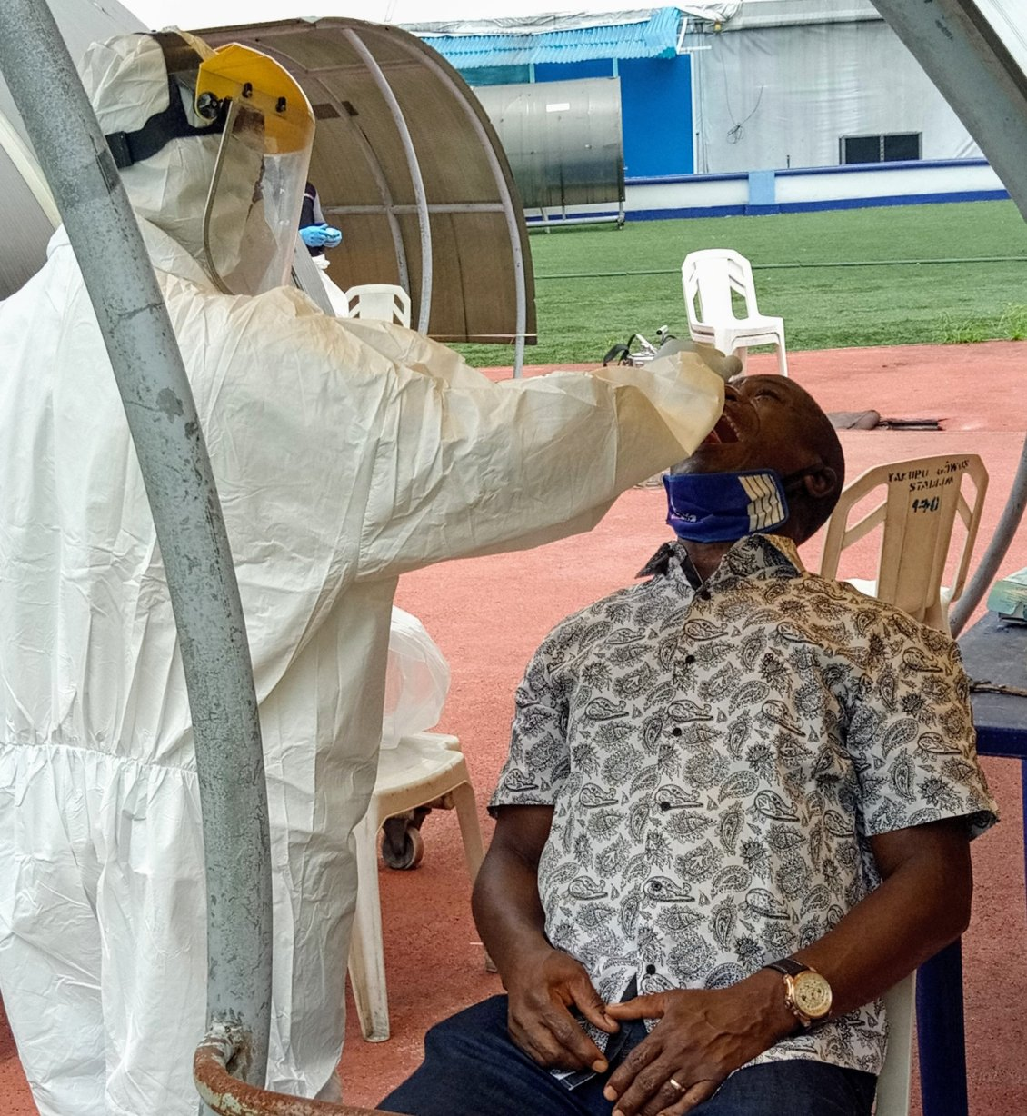 Rivers United players, official undergo coronavirus test