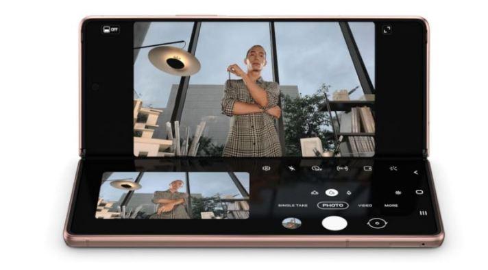 Flex mode camera