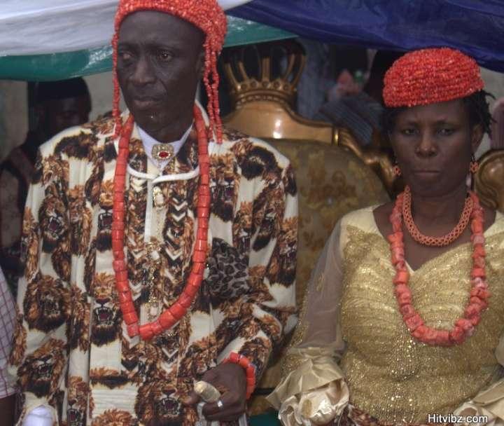 Egberu-Ndoki, Paramount Ruler, Obumneme Nkwachukwu Akawor and Wife, Lolo Justina