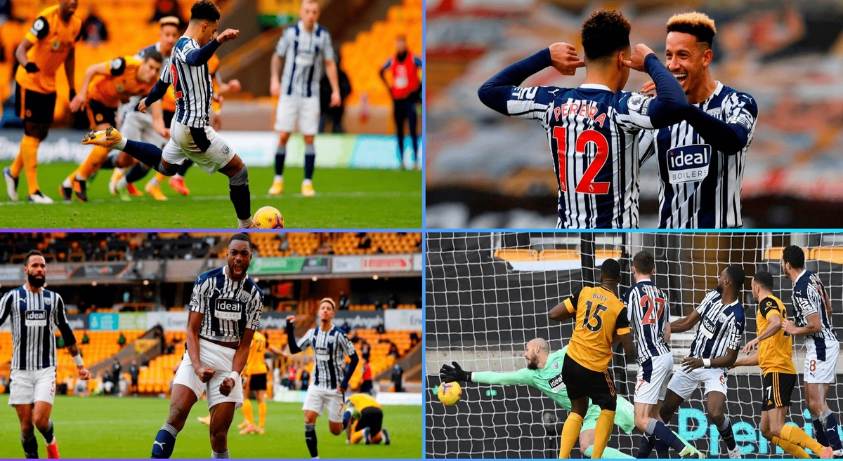 Premier League: Wolves 2-3 West Brom