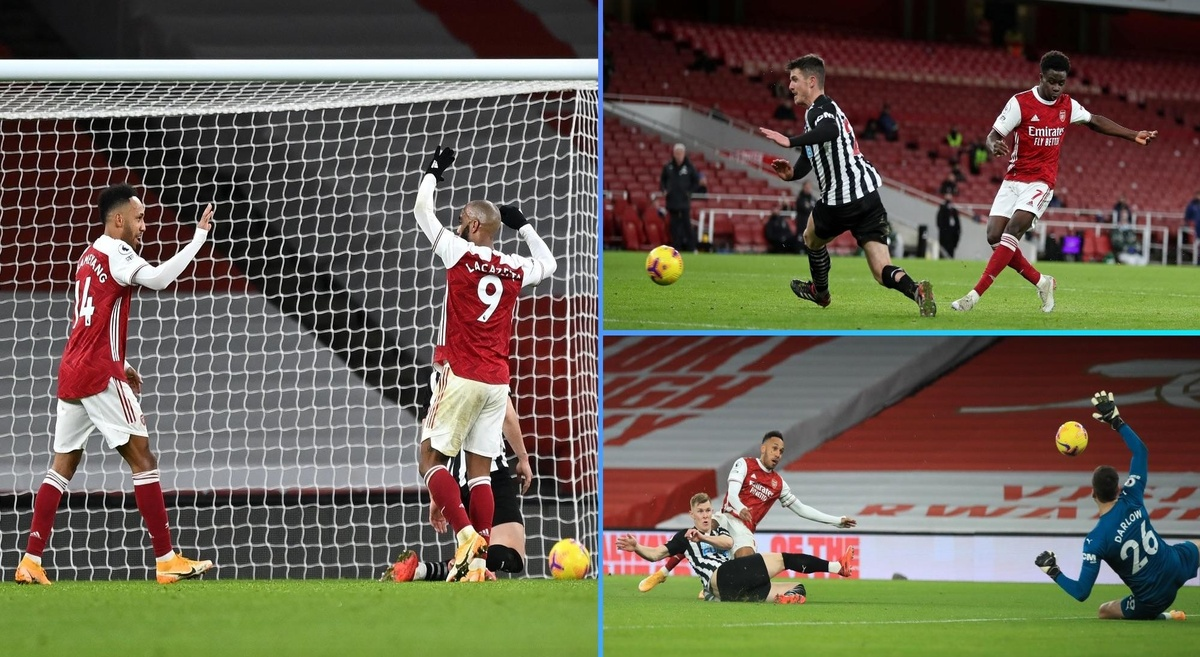 Premier League: Arsenal 3-0 Newcastle United