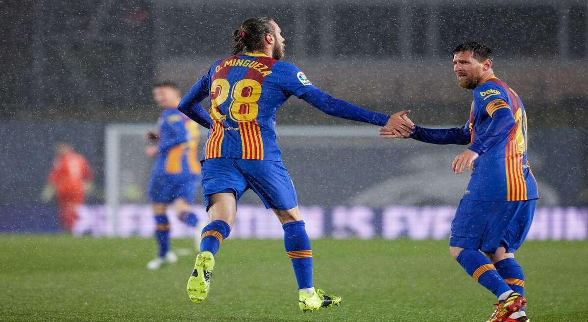 Real Madrid 2-1 Barcelona: My goal was meaningless says Oscar Mingueza