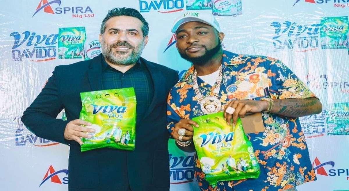 Aspira signs Davido as brand ambassador for Viva detergent