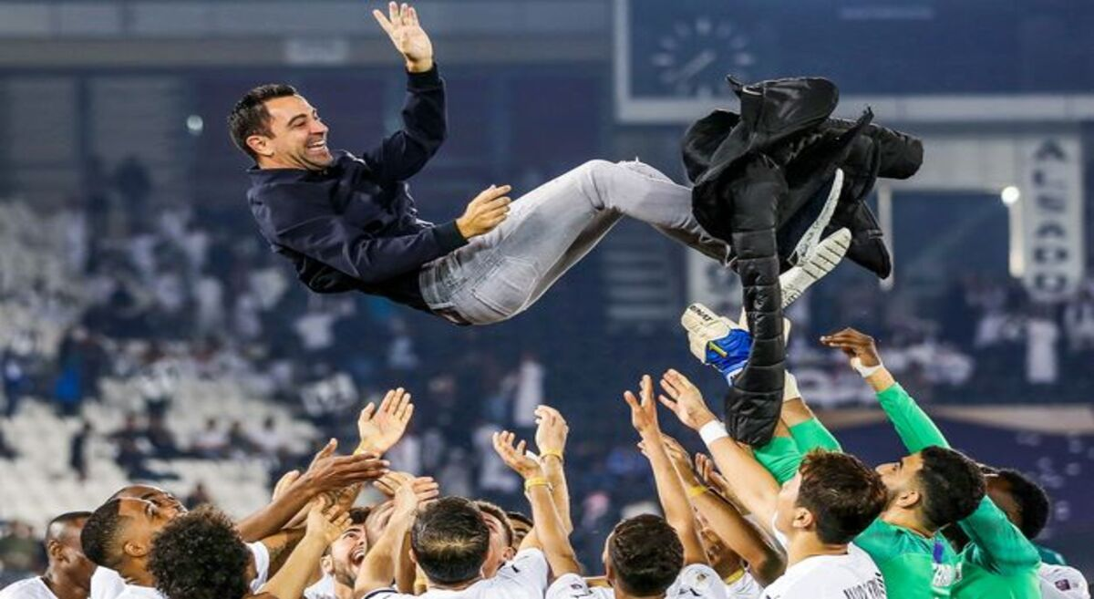 The former Barcelona star, Xavi Fernandez' side, Al Sadd finished the league unbeaten this season after a win over Qatar SC in the final round.