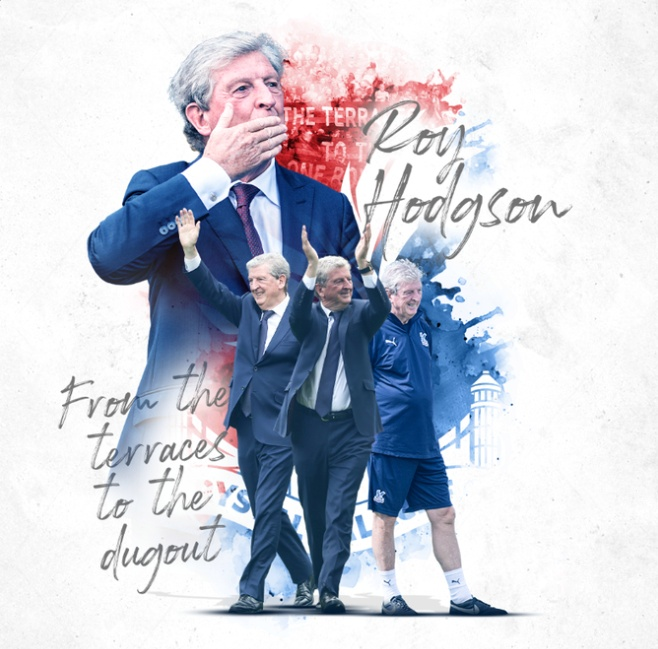 Roy Hodgson to step down as Crystal Palace manager